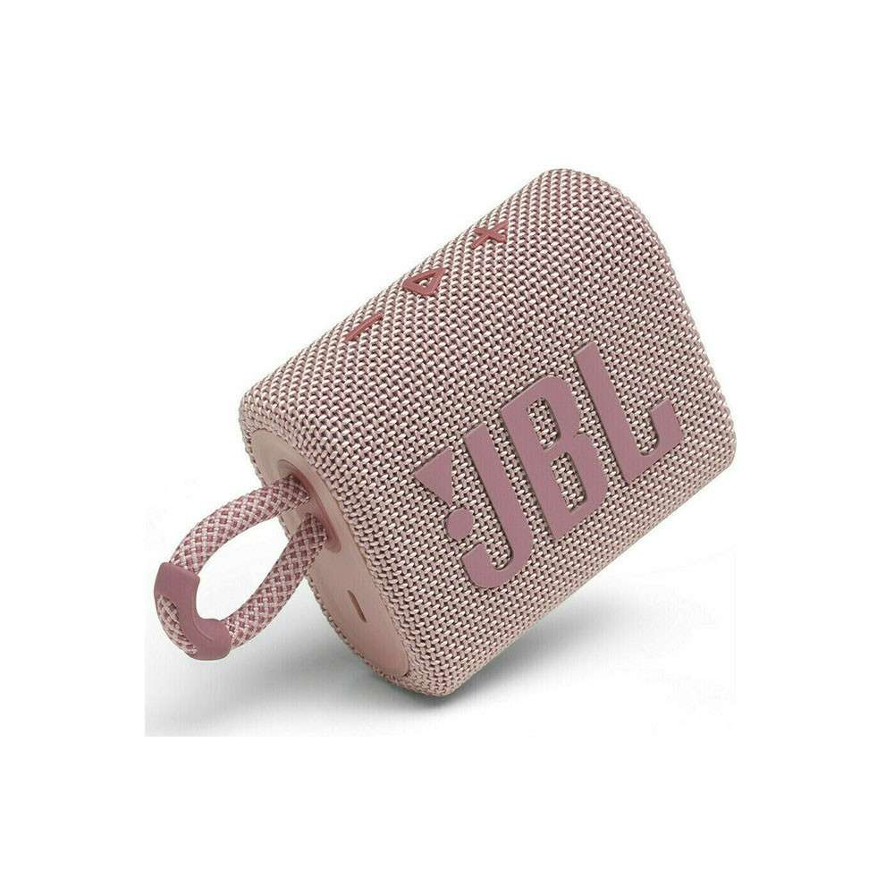 JBL GO 3 Ασύρματο Ηχείο Bluetooth V5.1 Pink