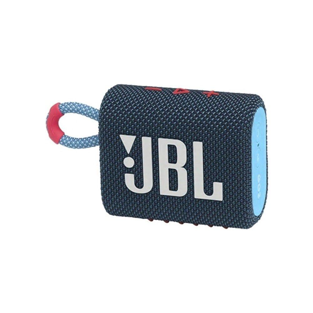JBL GO 3 Ασύρματο Ηχείο Bluetooth V5.1 Blue/Pink