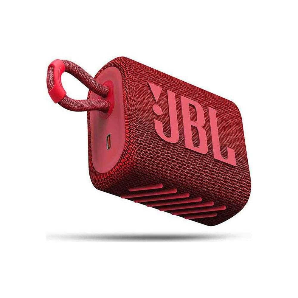 JBL GO 3 Ασύρματο Ηχείο Bluetooth V5.1 Red