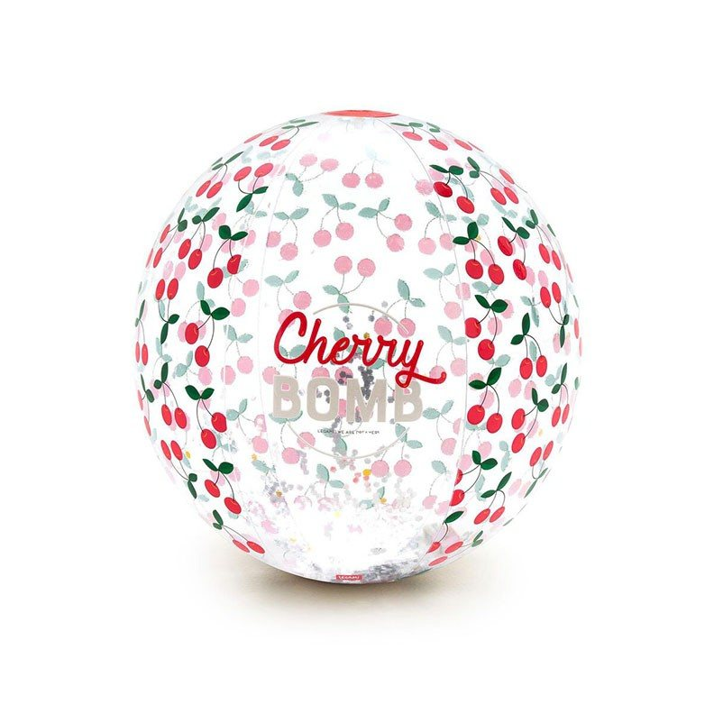 Legami BB0003 Φουσκωτή Μπάλα Θαλάσσης - Cherry