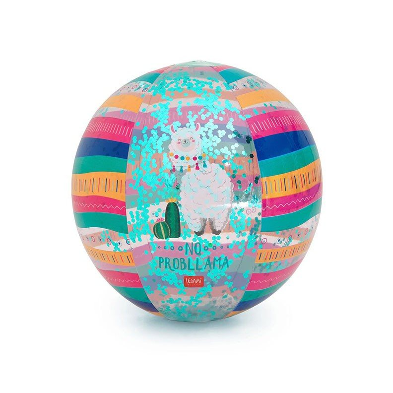 Legami BB0005 Φουσκωτή Μπάλα Θαλάσσης - Llama