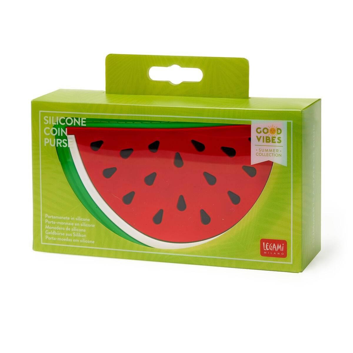 Legami VSP0002 Πορτοφόλι Σιλικόνης - Watermelon Red/Green