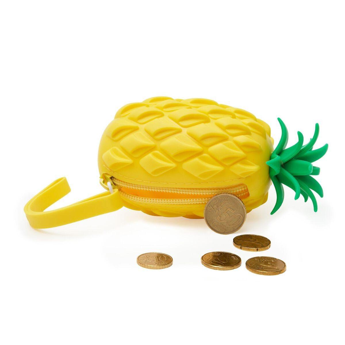 Legami VSP0001 Πορτοφόλι Σιλικόνης - Pineapple Yellow/Green