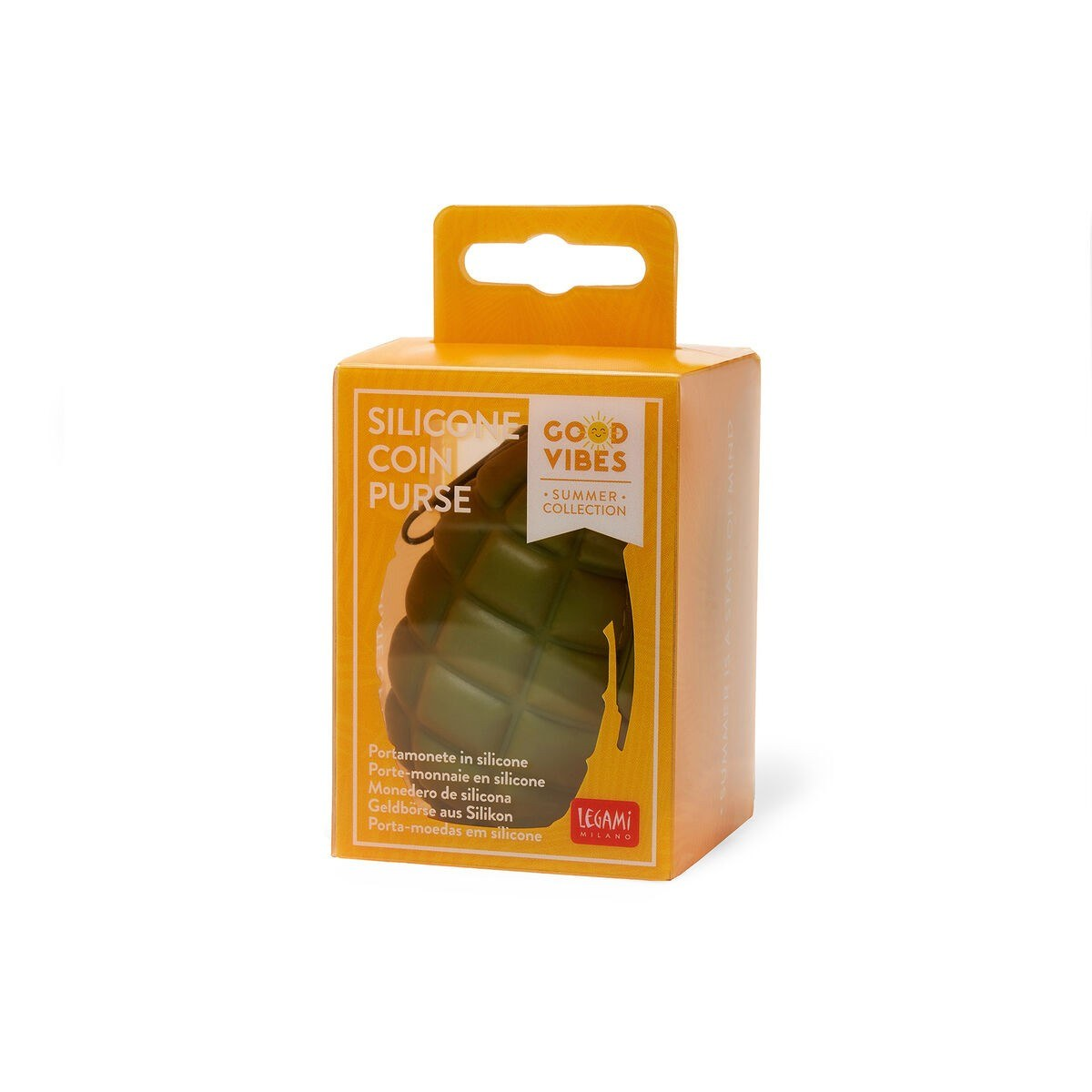 Legami VSP0001 Πορτοφόλι Σιλικόνης - Grenade Green