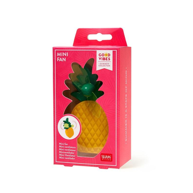 Legami VFAN0004 Μίνι Φορητός Ανεμιστήρας - Pineapple Yellow/Green